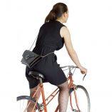 black & bronze clutch bag La Pochette Lady Harberton