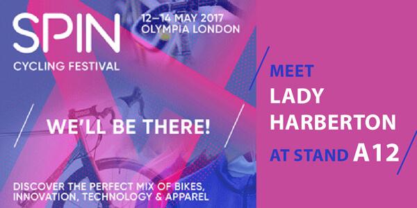 Lady Harberton at spin London Bike show